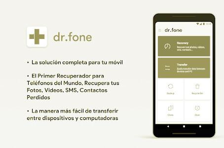 restablecer contactos suprimidos Dr. Fone 1