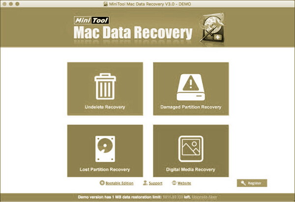 Mini Tool MAC Data Recovery