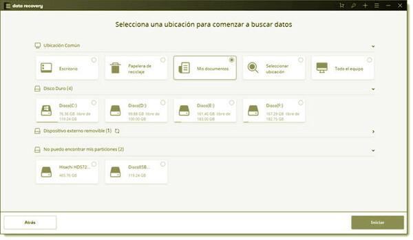 Tutorial paso a paso de uso de WonderShare Date Recovery
